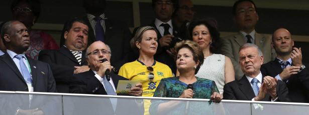 Dilma Rousseff ausente da final da Taça das Confederações