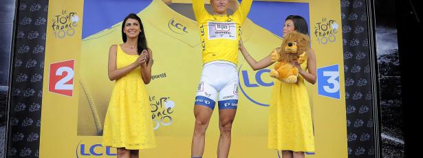 Marcel Kittel é o primeiro camisola amarela do Tour de França