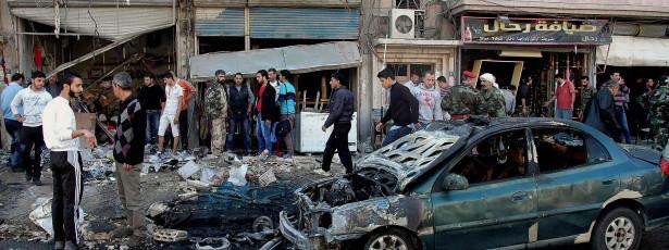 Conflito na Síria matou 120 mil pessoas em 31 meses
