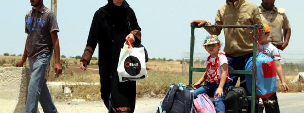 Egito encerra fronteira com Faixa de Gaza por tempo indeterminado