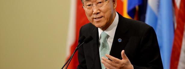 Ban Ki-moon critica Israel pela possibilidade de novos colonatos