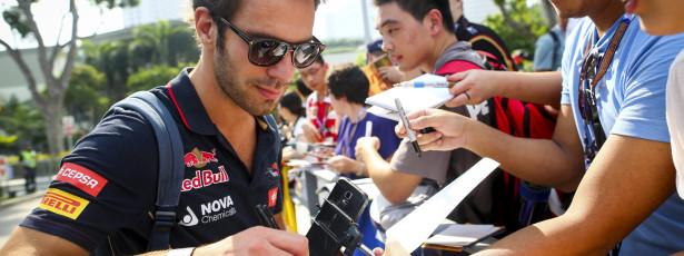 Jean-Eric Vergne será piloto de testes da Ferrari em 2015