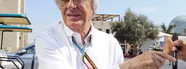 Ecclestone na administração do grupo que gere direitos comerciais da F1