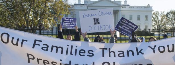 Imigrantes saudam reforma migratória de Obama