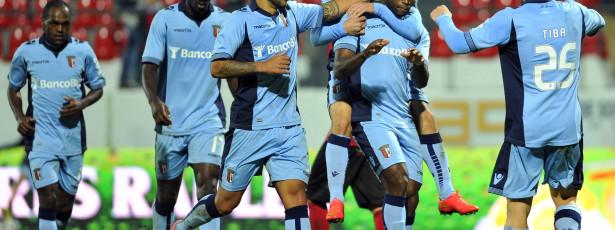 Sporting de Braga goleia Penafiel e sobe ao quarto lugar