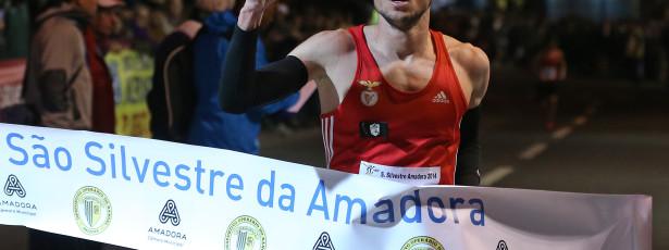 Rui Pinto ganhou a 40.ª edição da S. Silvestre da Amadora