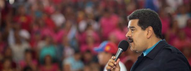 Maduro critica declarações de parlamentares europeus