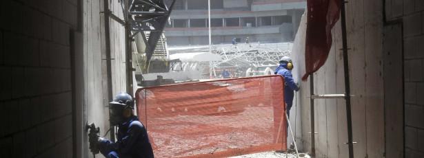 ผลงานในอุโมงค์Marãoให้การจ้างงานกว่า 800 คน