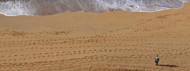 Quase 70% do litoral tem risco significativo de erosão