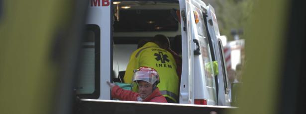 Dois feridos graves em despiste na Autoestrada do Norte em Leiria