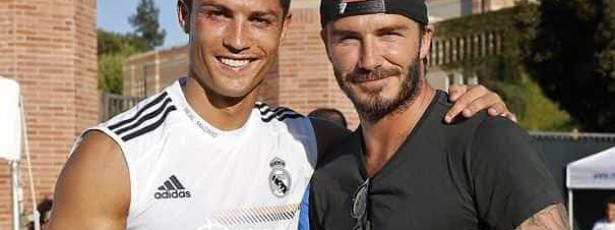 Real Madrid junta David Beckham e Cristiano Ronaldo