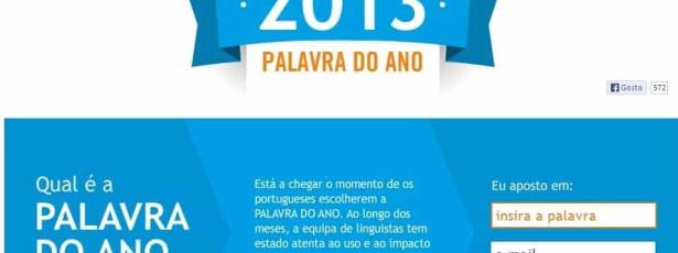 Escolha a palavra do ano. A Porto Editora aceita sugestões