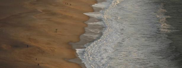 Aos anos 101 anos, viu o mar pela primeira vez