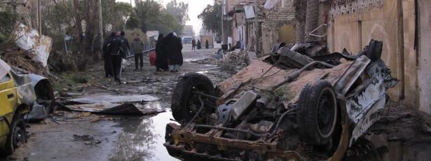 Contabilizam-se 20 mortos em atentados com viaturas armadilhadas