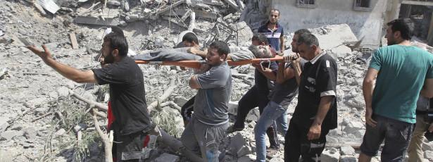 Mais de 1.190 palestinianos mortos em Gaza
