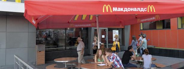 Russos começaram a fechar McDonald's