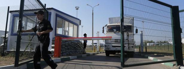 Camiões da coluna humanitária estão a regressar à Rússia