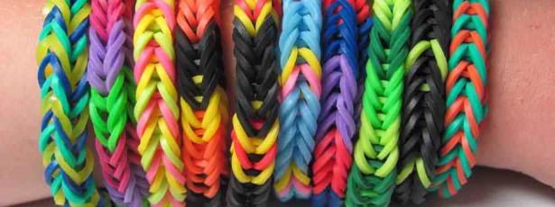 Elásticos coloridos retirados por suspeitas de causar cancro