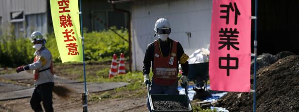 Trabalhadores da central de Fukushima querem subsídio de risco