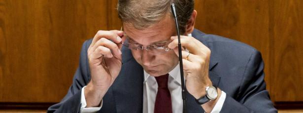 Estado revogou financiamento a empresa de Passos Coelho