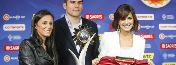 Sara Matos é a madrinha da Algarve Cup