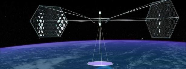 China quer criar central de energia solar no espaço