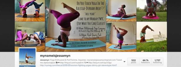 Instrutora usa yoga para acabar com preconceitos e estereótipos