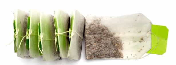 Deita as saquetas de chá verde fora? Não o faça