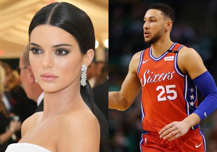 Kendall Jenner e Ben Simmons já não disfarçam a paixão que os une