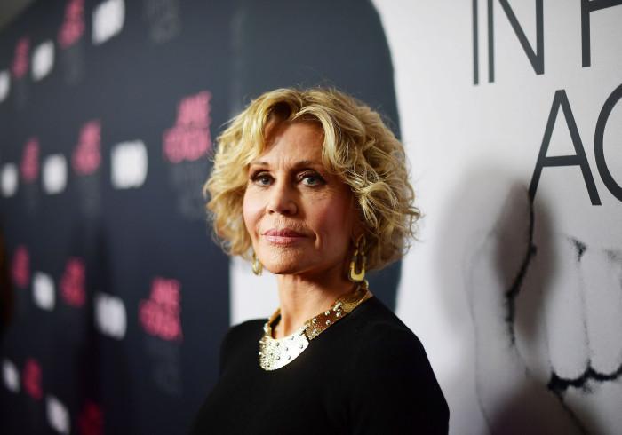 Jane Fonda conta que nadou nua com Michael Jackson