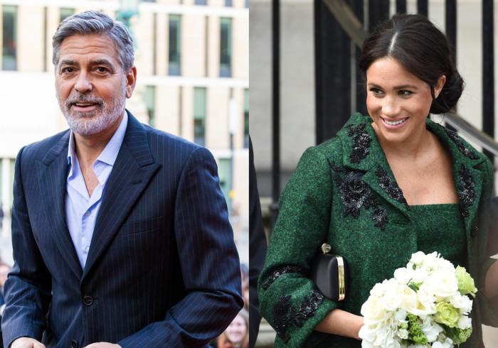 Para George Clooney, Meghan Markle está a ser