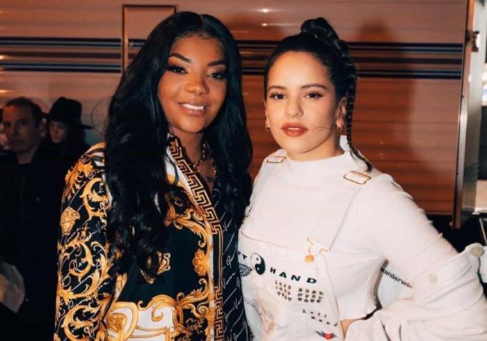 Dupla improvável? Ludmilla e Rosalía juntas em Los Angeles