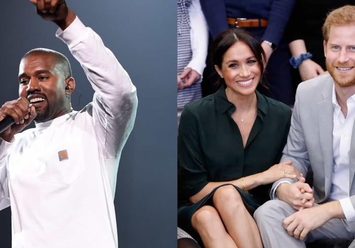 Kanye West quer que Harry e Meghan Markle passem a ir à sua igreja