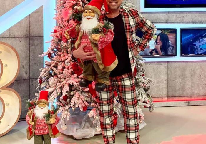 Inspirado na quadra natalícia, Flávio Furtado aposta no padrão escocês