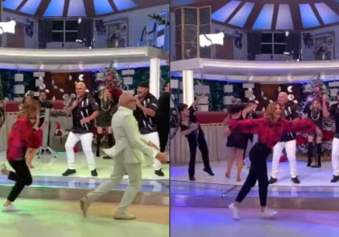 Que animação! Cristina Ferreira e Goucha dançam ao som de Nemanus
