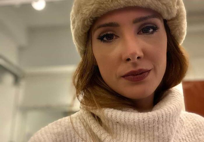 Marta Andrino acaba espetáculo de teatro a chorar: