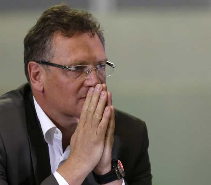 FIFA Secretário-geral Jérôme Valcke demitido