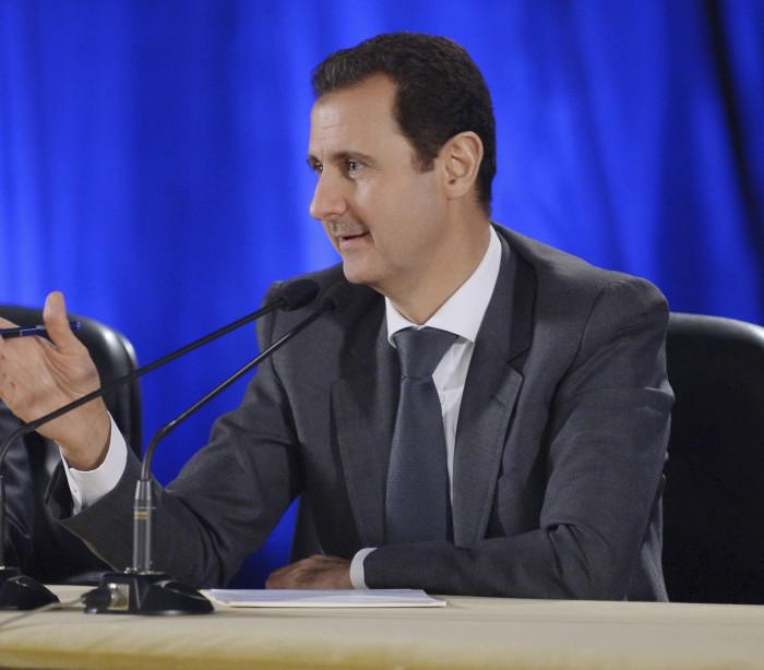 Bashar al-Assad diz que fracasso da Rússia destruiria o Médio Oriente