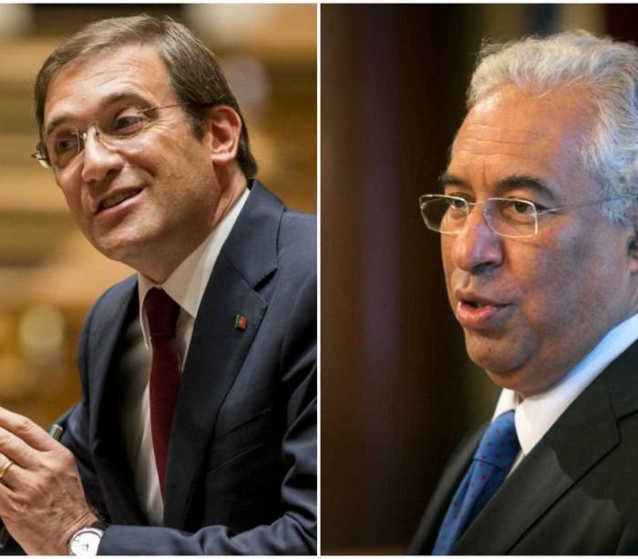 Já há datas para debates entre Passos Coelho e António Costa