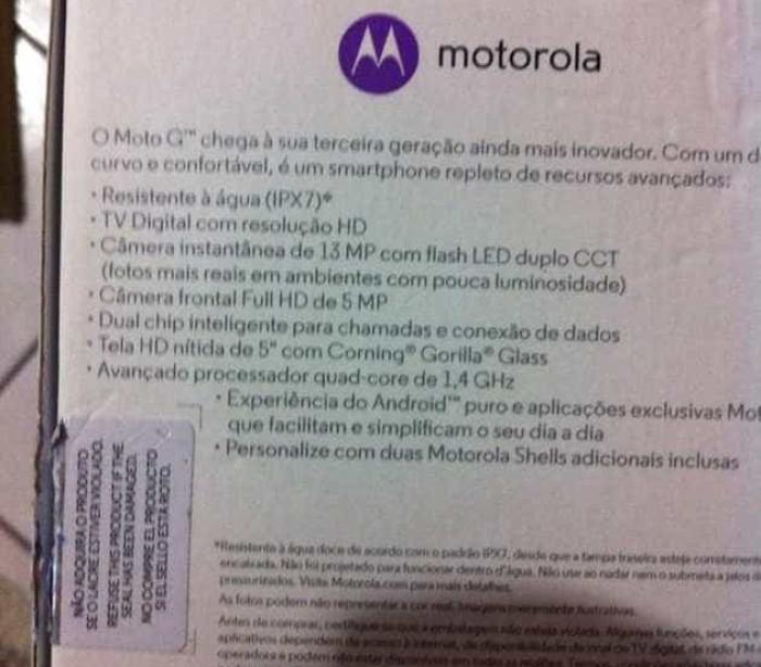 Fotografias mostram tudo sobre o próximo Moto G