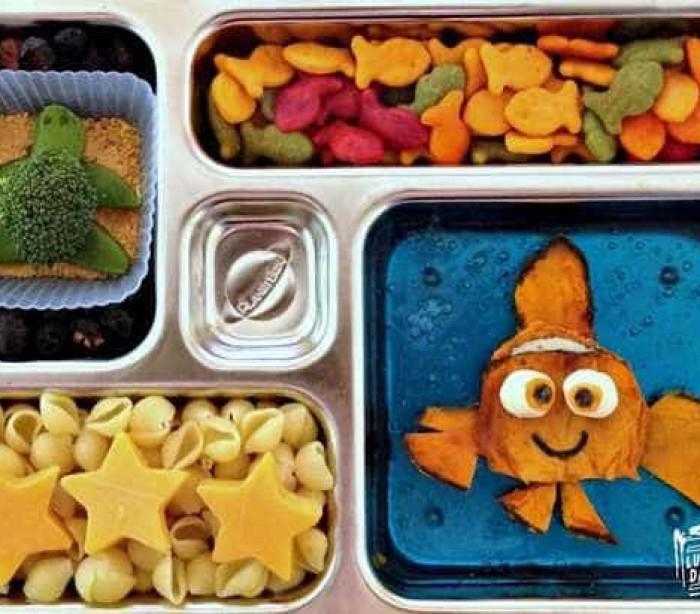 Para a filha comer, pai cria refeições criativas e divertidas