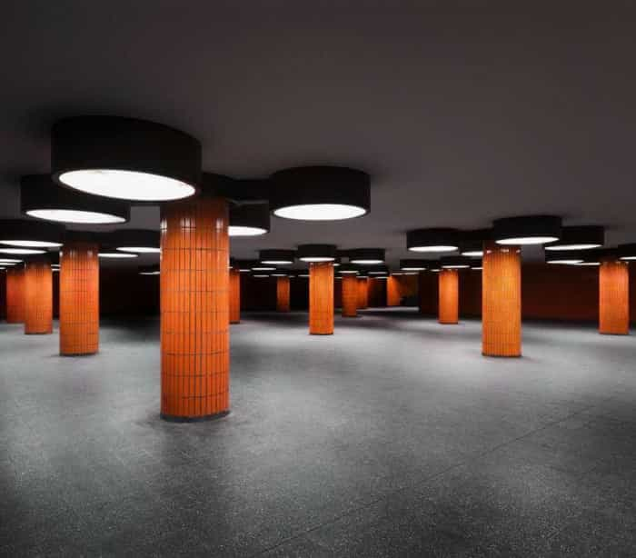 Estações de metro como nunca as viu