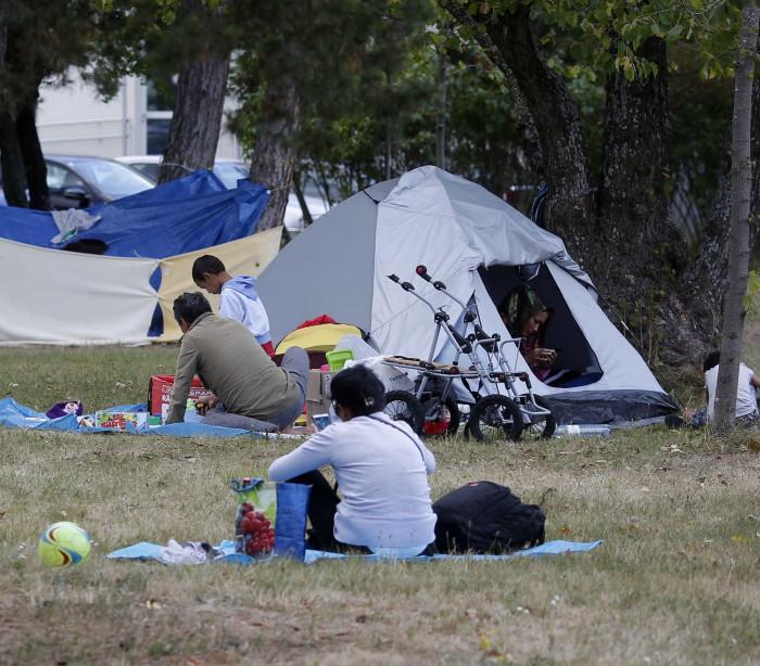 Áustroa garante que não abandona os refugiados que estão a chegar