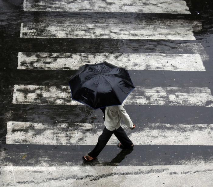 Até sábado, quatro distritos estão sob aviso laranja devido à chuva