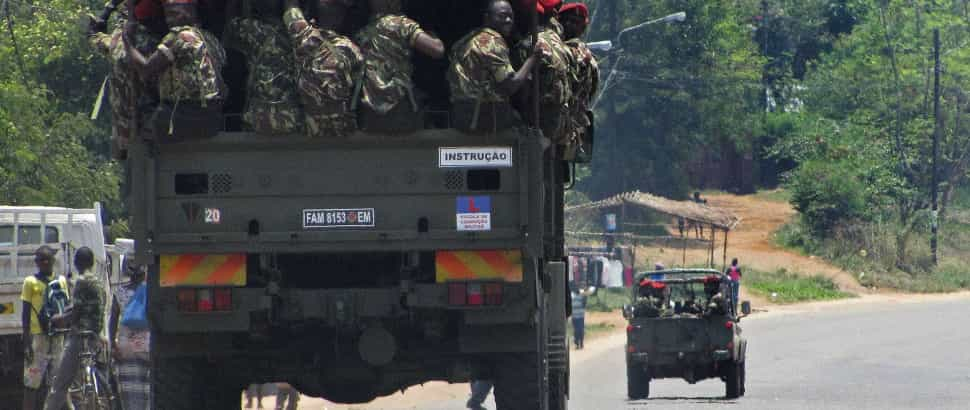 Moçambique: Novo ataque armado na Gorongosa - televisão