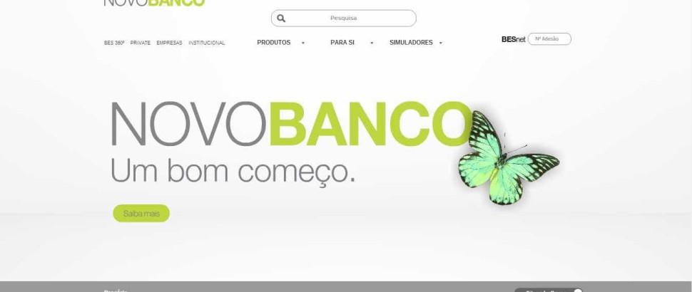 Novo Banco já tem (nova) imagem