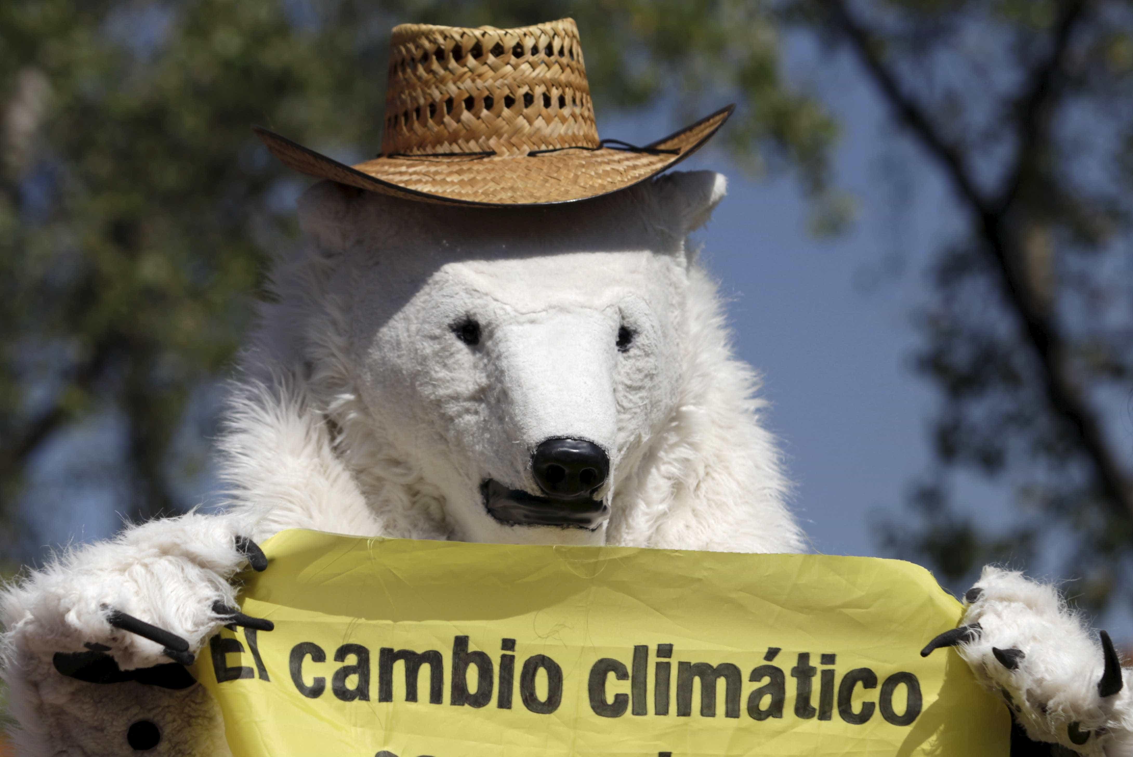 Protestos criativos em defesa do ambiente