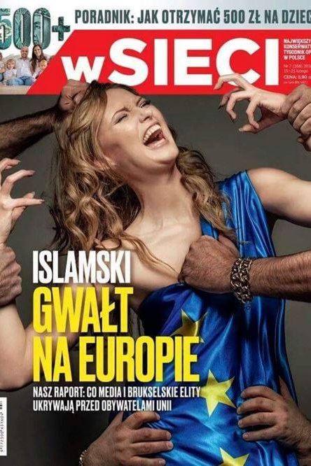 Capa de revista polaca causa polémica:  Naom_56c77358c1128
