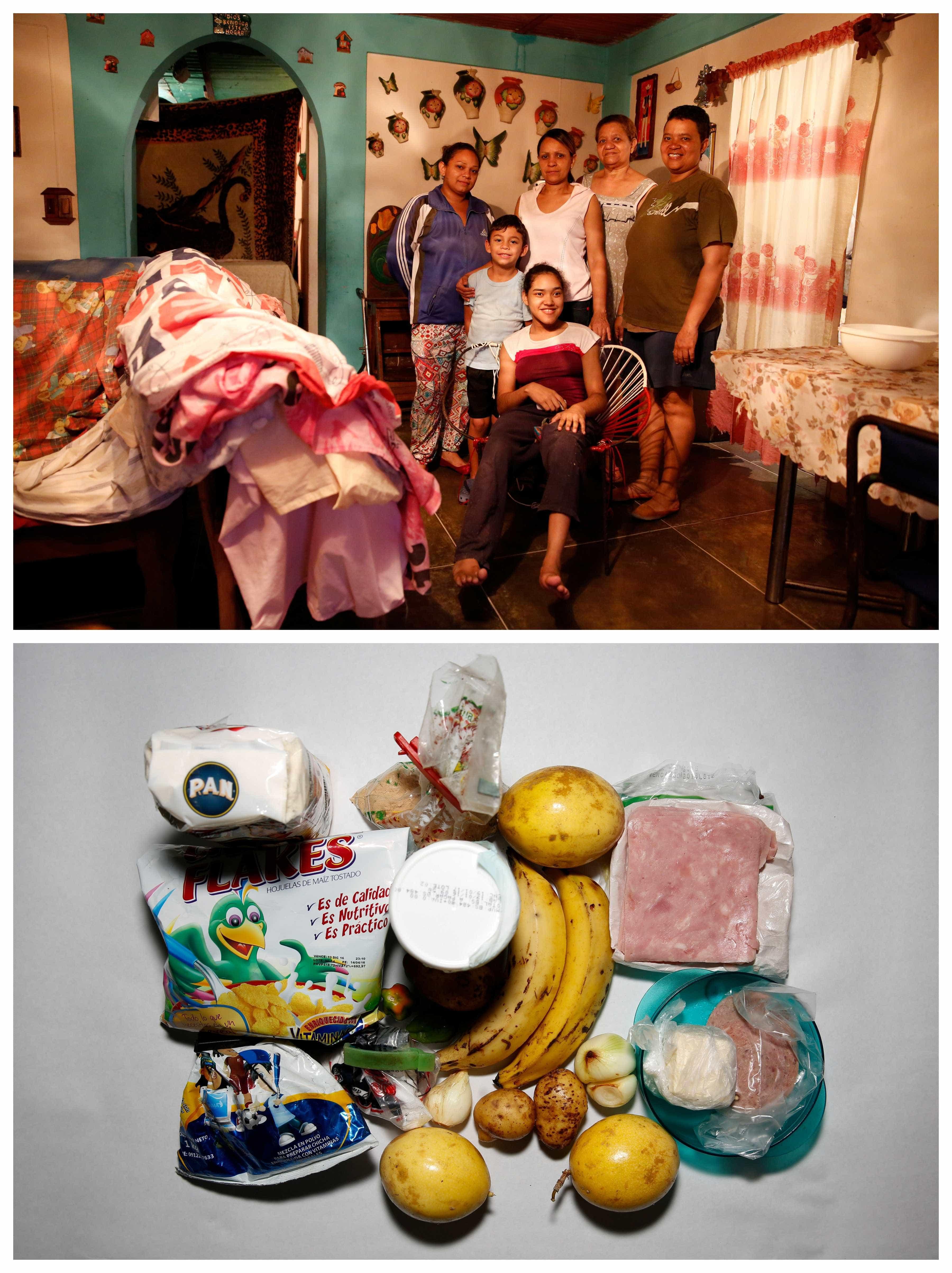 Frigoríficos vazios de uma Venezuela sem eletricidade