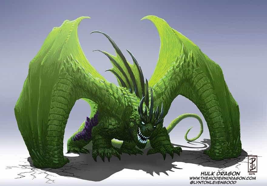 E se o Hulk ou o Wolverine fossem dragões?